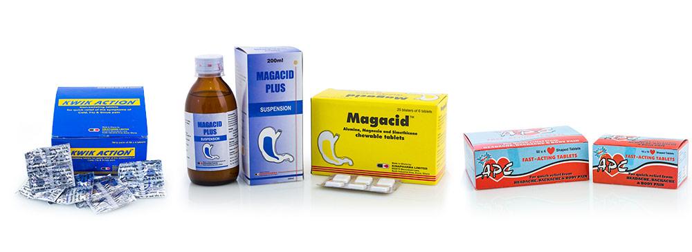 Kinapharma Products